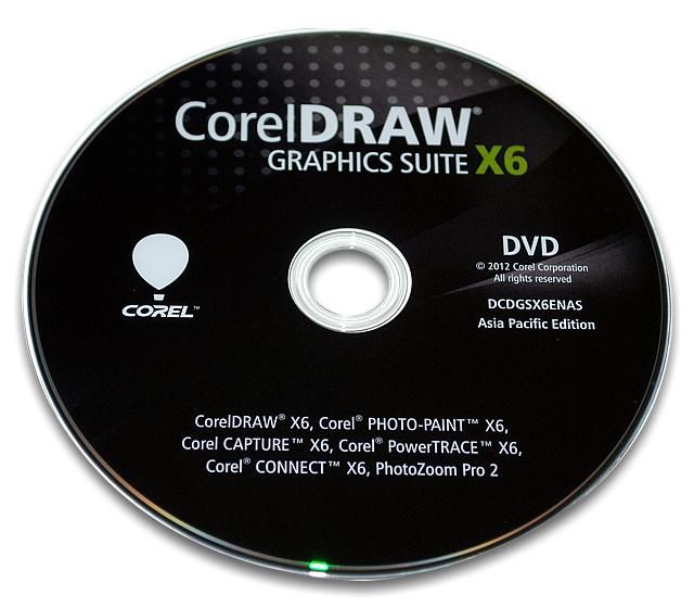 X6 DVDディスクの写真