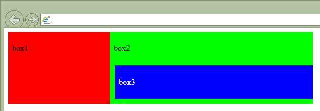 IE10の表示結果