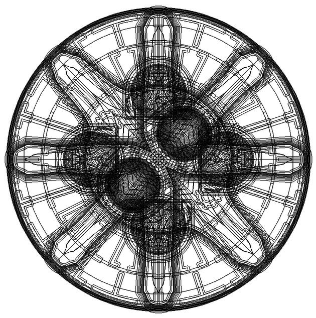 パノプティコンのワイヤーフレーム画像