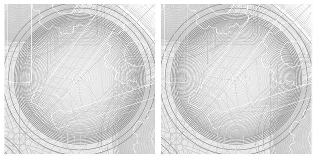 精度の比較画像