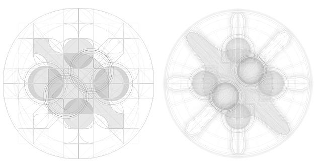 1ピクセルにサイズ指定した画像の比較