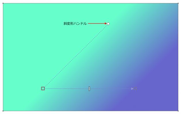 X7の線形グラデーション
