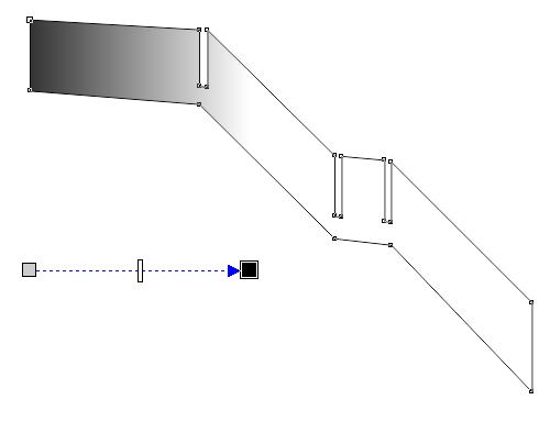 透明度の操作画面2