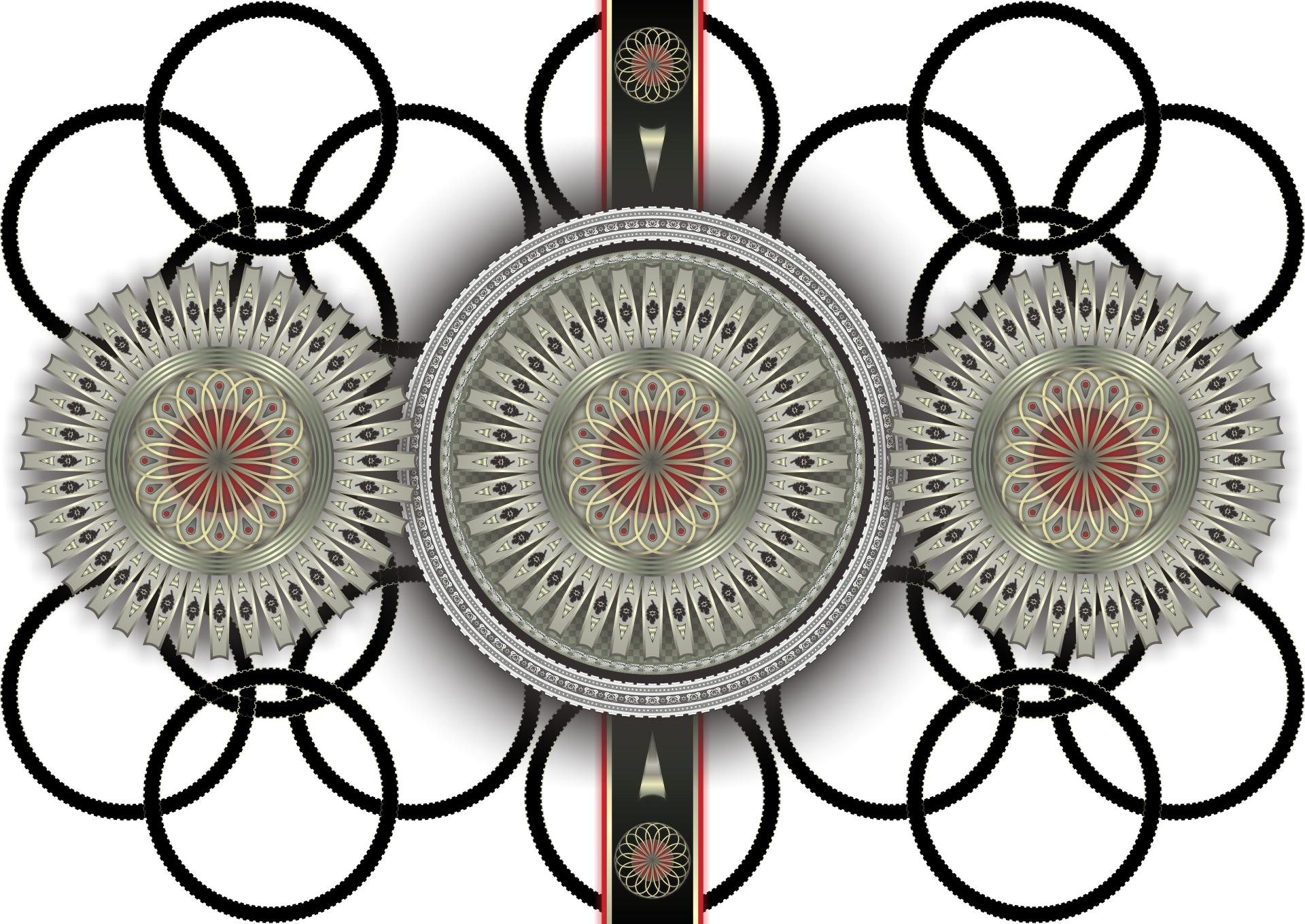 歯車 イラスト画像