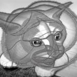 小太郎 その1 ワイヤーフレーム画像